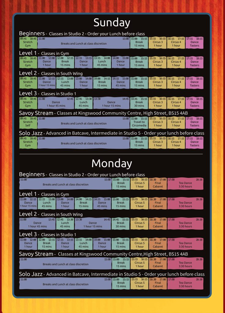 BSF 2017 Schedule Page 2